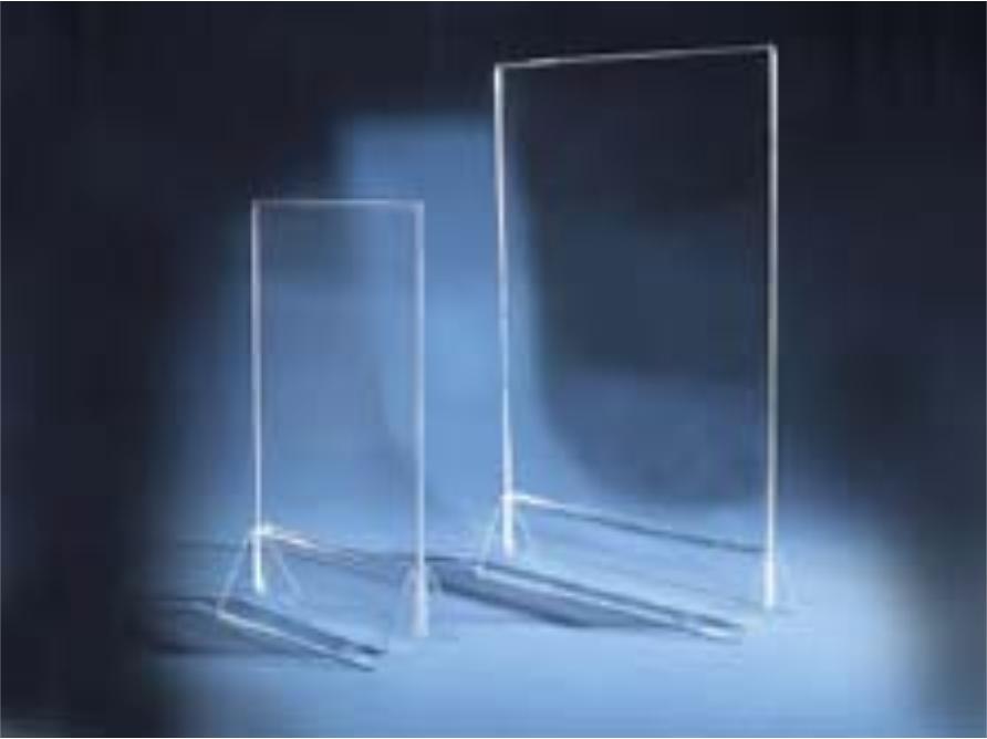 stojany na stôl obojstranné v rôznych rozmeroch - A6, A5, A4 vertikálne aj horizontálne aj s potlačou
