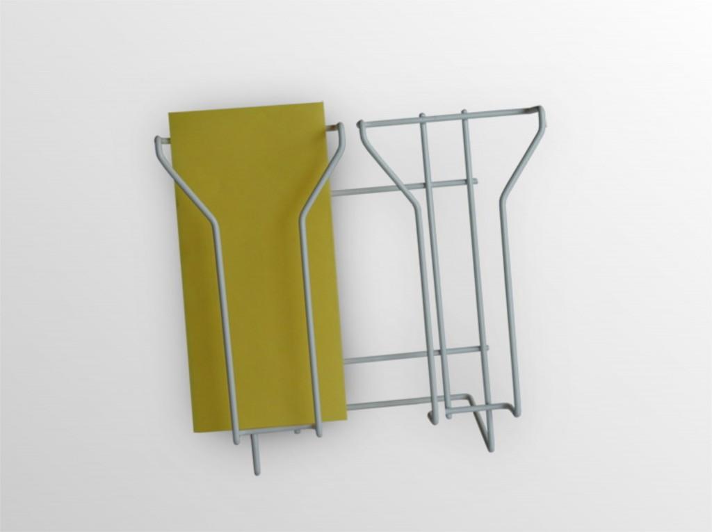 2x1/3A4NS -stojan na stenu -formát DL -2 zásobníky